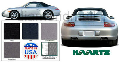 New Porsche 996 / 997 Cabriolet, Carrera Convertible Soft Top 2002-2010