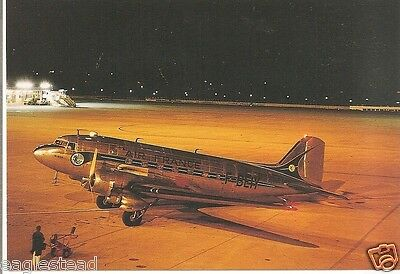 Airline Postcard - Air France - DC-3 - F-BEIY (P2560)