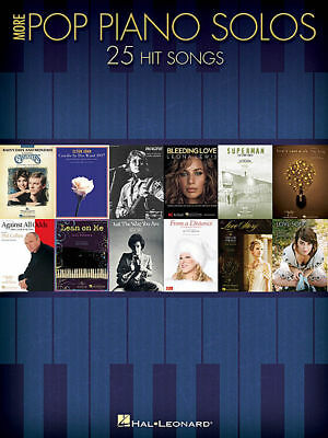 More Pop Piano Solos Book *NEW* 27 Hit Songs Sheet Music Inc. Beatles & Queen