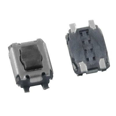 50 Pcs Momentary Tactile Tact Push Button Switch 3 x 3.5 x 1.8mm 4 Pin SMD SMT