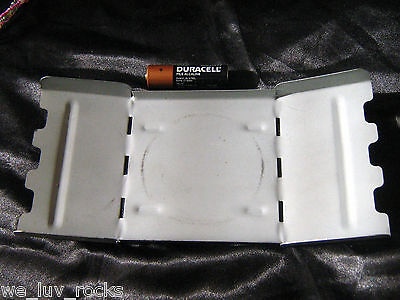 """Stand 8"""" x 3 1/4"""" solid steel for alcohol camp hobo stove 2B"""
