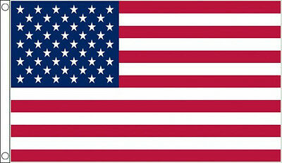 USA FLAG 5' x 3' DELUXE NYLON US America American Stars and Stripes Banner