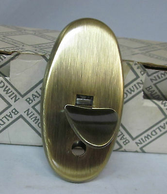 Baldwin Thumb Latch Press Thumblatch Only ANTIQUE BRASS NEW!