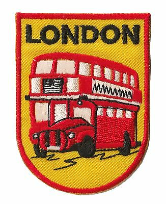 Ecusson patche London Londres patch voyage patch brodé thermocollant