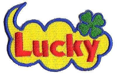 Patche Lucky patch Chance Luck brodé transfert écusson thermocollant