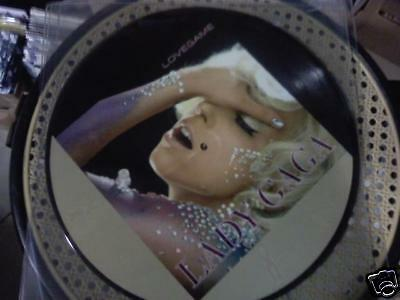 Lady Gaga - LOVEGAME - MIX  Picture DISC  Nuovo MINT