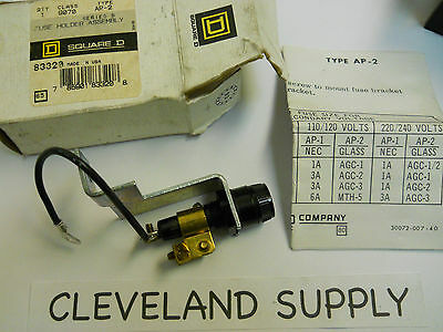 Square D 9070 Ap-2 Fuse Holder Assembly Series B New Condition In Box