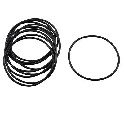 10 Pcs Black Rubber O Ring Oil Filter Seal Gaskets 45mm X 1 8mm