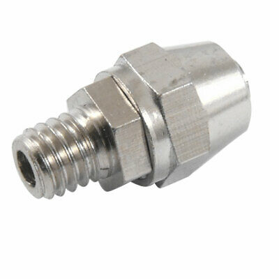 M6 Male Thread 4mm x 6mm Pneumatic Air Tube Quick Coupler Connector