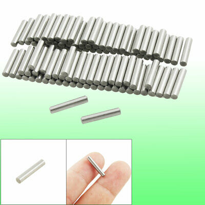 100 Pcs Stainless Steel 2.8mm x 15.8mm Dowel Pins Fasten Elements