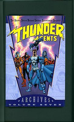 THUNDER AGENTS ARCHIVES VOLUME 7 ~ 2011 ~ T.H.U.N.D.E.R.  AGENTS ~ ARCHIVE