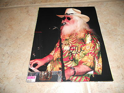 Leon Russell Signed Autographed 8x10 Live Music Photo #3