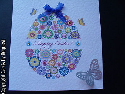Handmade Easter Card - Can be personalised