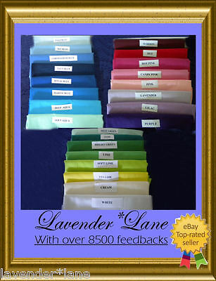 FLAT COT SHEETS - NEW - $12 - 22 COLOURS - 16YRS ON EBAY - ONLY $4 postage