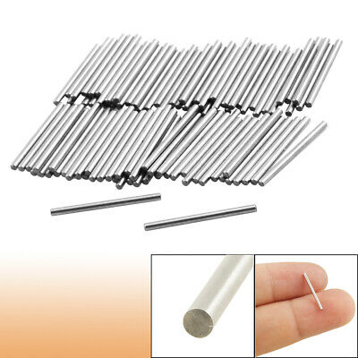 100 Pcs Stainless Steel 1.1mm x 15.8mm Dowel Pins Fasten Elements