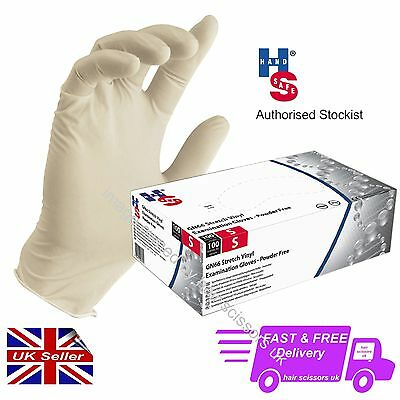 Synthetic Examination Hairdressing Glove Size SMALL, PACK of 100 Powder Free