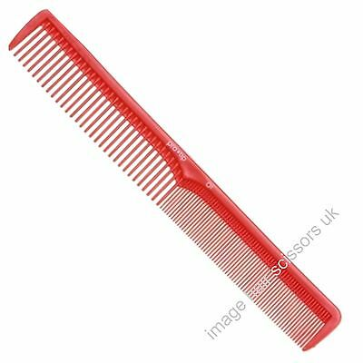 Pro Tip 01 Cutting Comb Hair Hairdressing & Barbers Salon Professional Red Combs