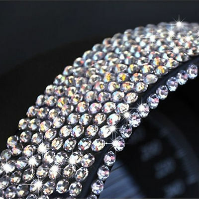 667 2Mm Self Adhesive Stick On Diamonte Clear Gems Crystal Rhinestone Diamantes
