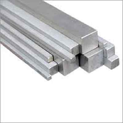 "STAINLESS STEEL SQUARE BAR  1/2"" x 1/2"" x 36"" ALLOY 304"