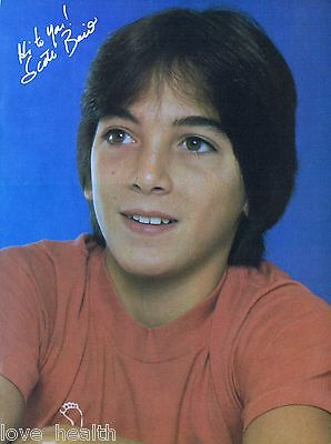 "SCOTT BAIO - KEVIN BROPHY - LENNY BARI - TEEN BOY - 11""x8"" MAGAZINE POSTER PINUP"