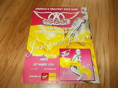 Aerosmith-magazine advert