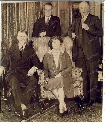 1929 LONDON Sir William WATERLOW new Lord Major and his family *Photo