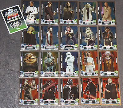 Force Attax Movie Serie 2 Star-Karten aussuchen Nr. 193-224 Star Wars Card