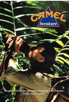 Other Breweriana Publicité Advertising 1990 Camel Aventure