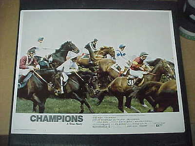 CHAMPIONS, nr mint orig LCS [John Hurt] - Steeple chase horse racing