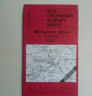 Old Ordance Survey Maps Wincanton Mere District &  Map Zeals 1897 Special Offer