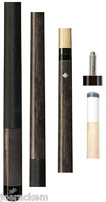 NEW Dufferin D-232, D232 - Dove Grey Stained Canadian Maple Pool Cue -Black Wrap