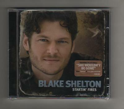 Black Shelton - Startin' Fires   - Cd - Country