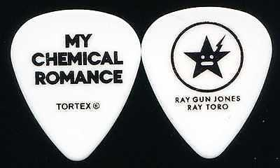 MY CHEMICAL ROMANCE 2011 Civic Tour Guitar Pick!!! RAY TORO custom concert stage