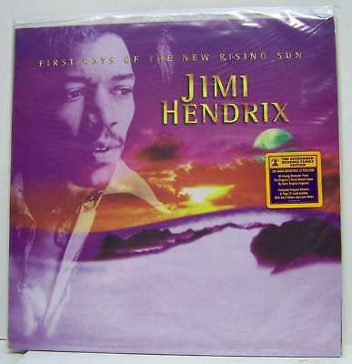 Jimi Hendrix - First Rays of the New R. -2LP-N°0669 USA