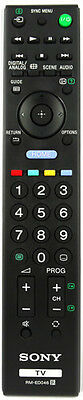 *GENUINE* SONY RMED046 and RM-ED046  TV REMOTE CONTROL