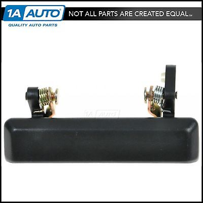 Front Outside Exterior Door Handle Black Driver Side Left LH for 86-95 Samurai