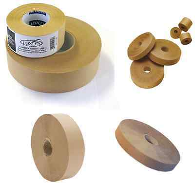 GUMSTRIP BROWN SEALING TAPE ARTIST PICTURE FRAMING 24mm 36mm x 200m or 54m