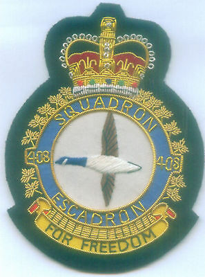Canada Canadian UK RCAF RAF ? Air Squadron 408 Helicopter Rescue War Patch