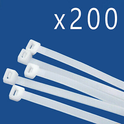 BULK PACK 1500 PACK 14 INCH NYLON ZIP CABLE TIES WIRE TIE WRAPS RED ...