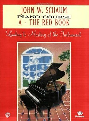 Schaum Piano Course Book A The Red Book