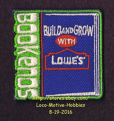 LMH PATCH Badge  2015 BOOKENDS  Build Grow  LOWES Kids Clinic  BOOK ENDS Reading