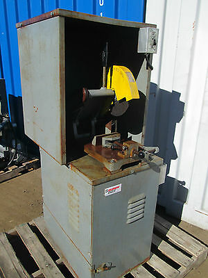 """Kalamazoo 3 Hp   10"""" Cutoff Saw  Chop Saw With Cabinet And Dust Collector"""