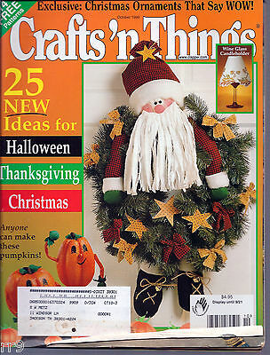 Crafts 'n Things Magazine October 1999 Ideas, How-To's, and Tips