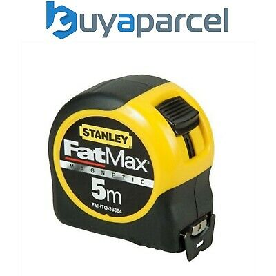 Stanley STA033864 FatMax Magnetic Tip 5m 16ft Tape Measure 0-33-864 Metric Only