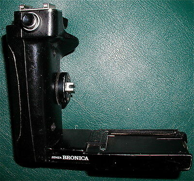 Zenza Bronica ETR Thumb Drive Grip. Great User. Free Shipping in USA