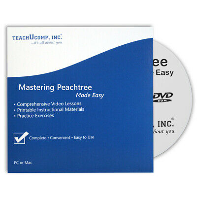 Learn PEACHTREE 2012/2011/2010 CPE Training Tutorial Course