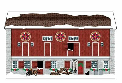 Cat's Meow Village PA Dutch Hex Barn MW006115 NEW Exclusive *Shipping Discounts*