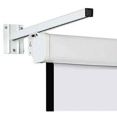 A Pair Wall Mount Brackets for Projector Screens 550mm