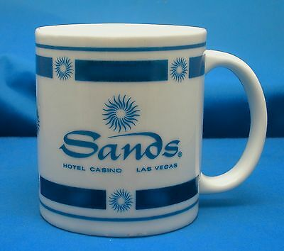 SANDS Hotel and Casino Porcelain Souvenir Coffee Mug Tea Cup Las Vegas
