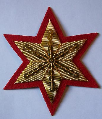 US Civil War Union Army Cavalry Horse Saddle Red Star Shabraque Artillery Patch